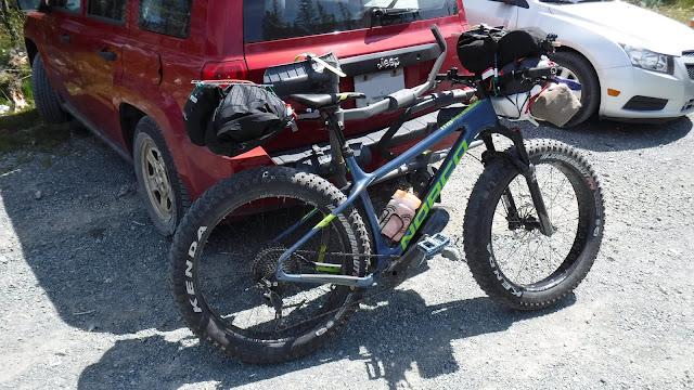 Avalon Wilderness Reserve Fatbike Republic bikepacking U24O Fat Bike Adventure