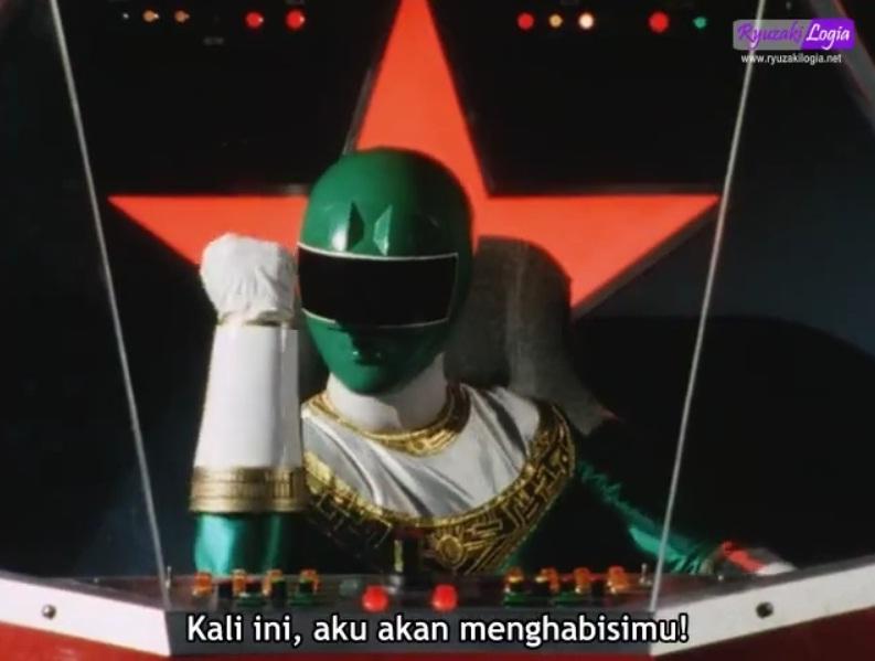 RyuzakilogiaMenuChouriki Sentai Ohranger Episode 45 Subtitle Indonesia
