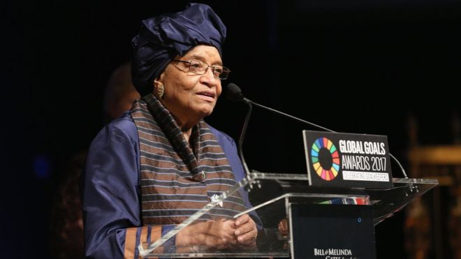 Ellen Johnson Sirleaf: Liberia's president expelled from her party