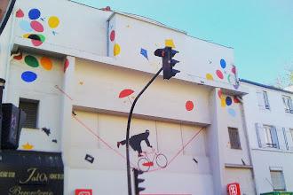 Sunday Street Art : Nemo - rue de Ménilmontant - Paris 20