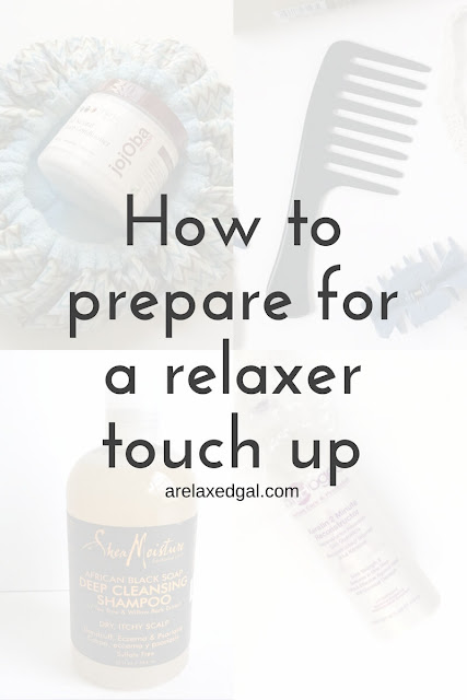 Five ways to prepare your hair for a successful relaxer touch up. | arelaxedgal.com