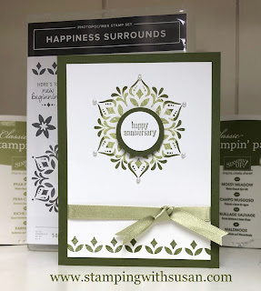 Stampin' Up!, Happiness Surrounds, Snowflake Showcase, www.stampingwithsusan.com