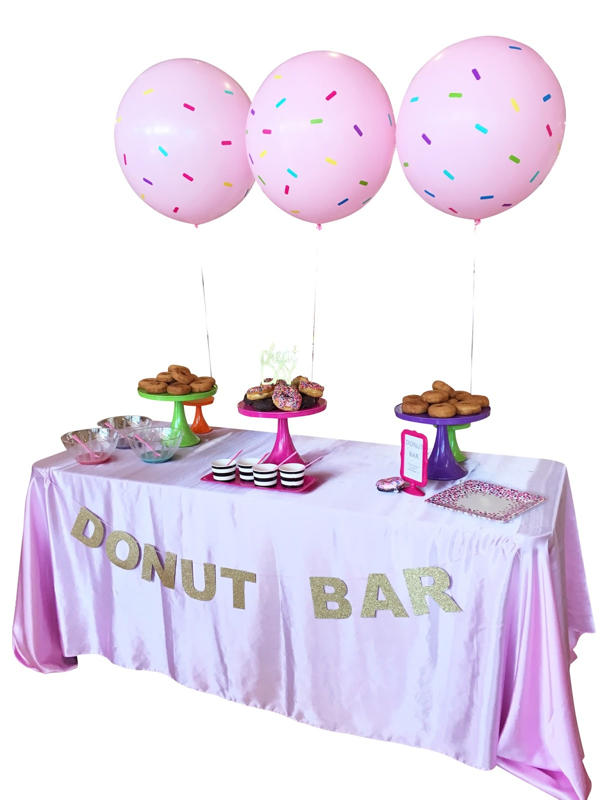 DIY: Interactive Donut Bar for a Party by popular Florida party blogger The Celebration Stylist