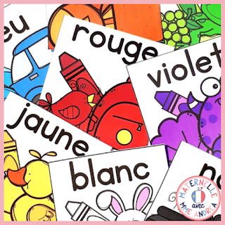 Everyone knows that teachers have to spend money out of their own pockets in order to stock their classrooms. If you've every purchased digital posters (alphabet, numbers, colours, etc.), check out this blog post for a simple tutorial on how you can reuse them for student référentiels, too!