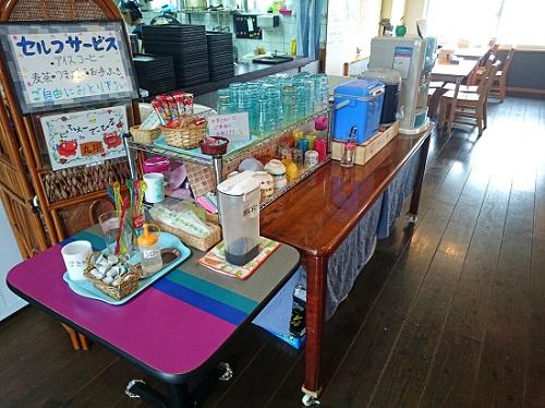 麺家 丸翔の店内の写真