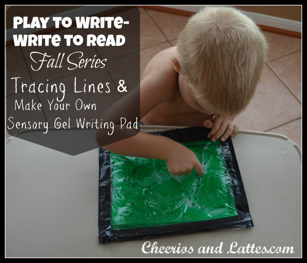 Pre-reading and pre-writing Ideas from It's Playtime - The