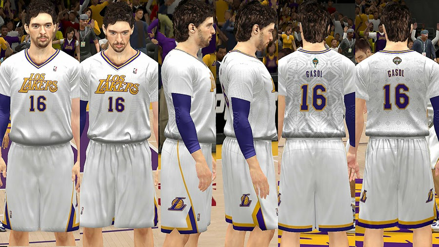 Los Lakers Latin Nights Sleeved Jersey