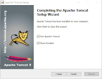 16.8 Apache Tomcat Setup Completed