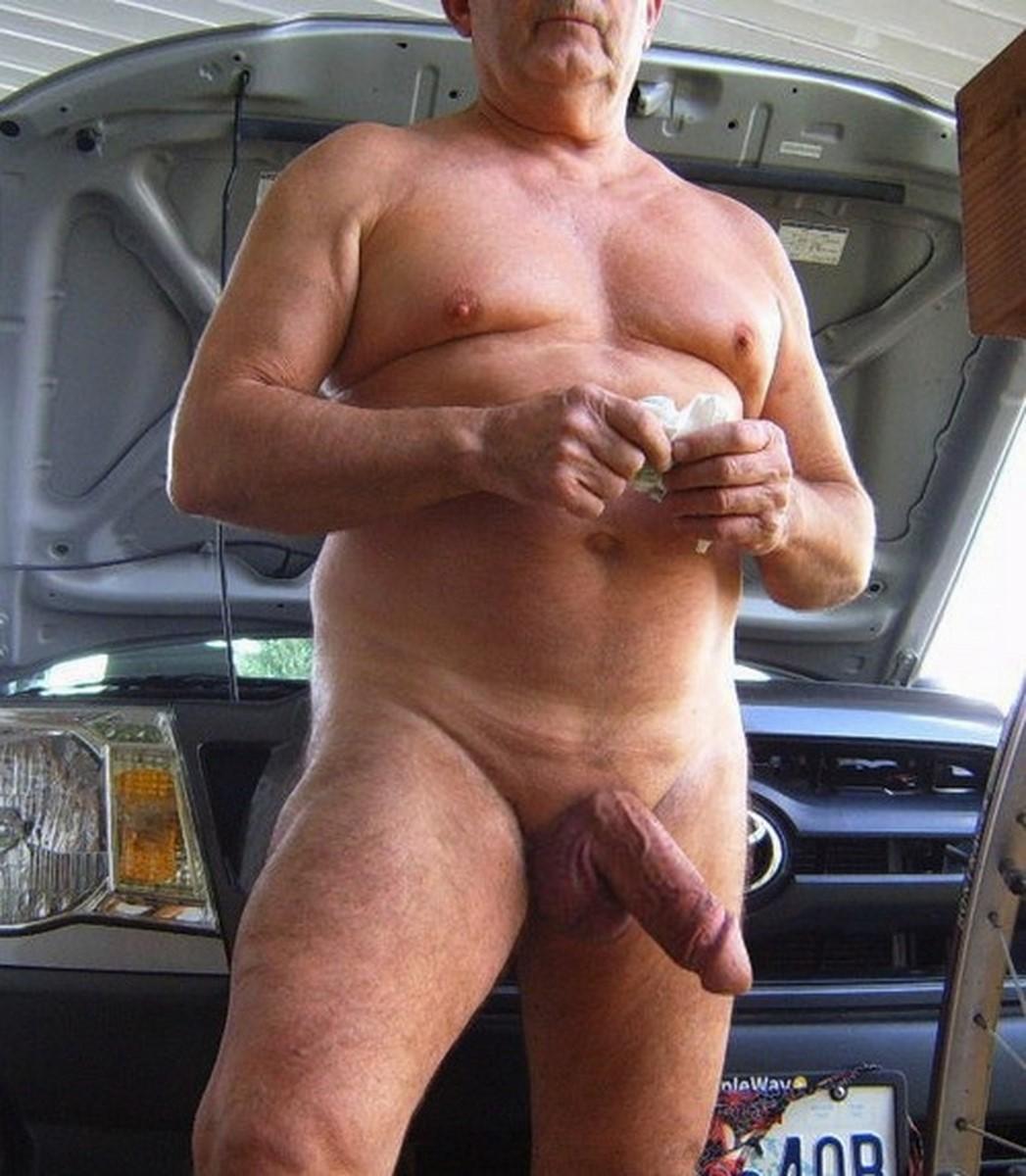 Пожилые мужчины голые фото