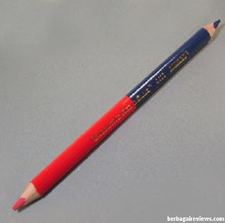 Pensil merah biru - berbagaireviews.com