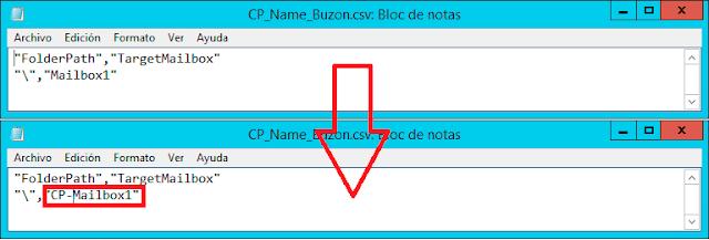Cambio de nombre del buzón de Carpetas Públicas.