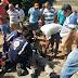 Policial de serviço sofre acidente em moto da corporação, em Diamante (PB)