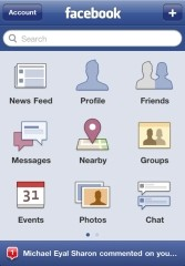 Facebook iOS app updated to version 3.5