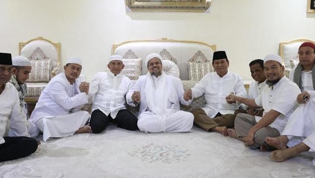 PAN: Amien Rais, Prabowo, Habib Rizieq Sepakat Bersatu untuk 2019