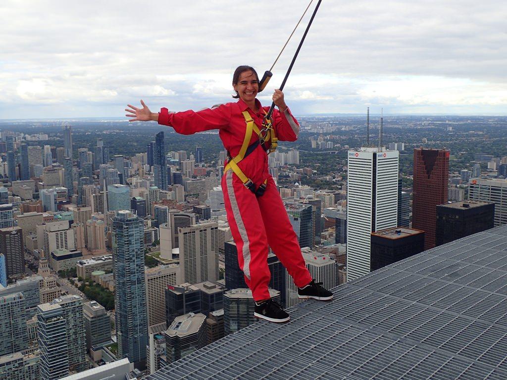 Edge Walk na CN Tower