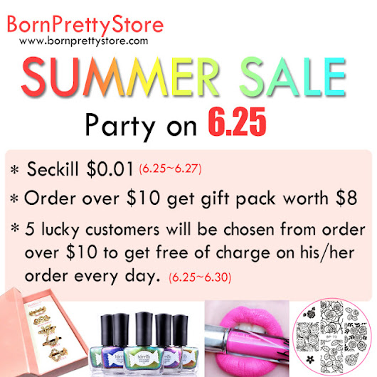Bornpretty Store Summer Sale