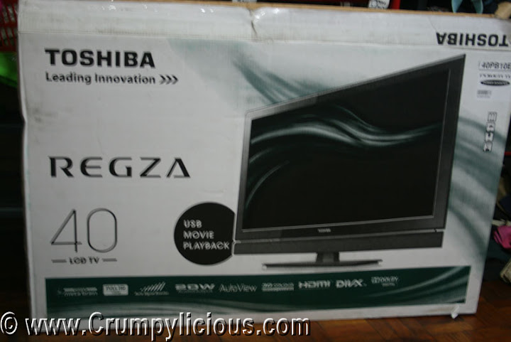 tv buying guide and lcd tv review 40 inch toshiba regza lcd tv model 40pb10e. Black Bedroom Furniture Sets. Home Design Ideas