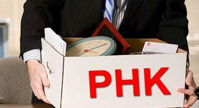 Gambar Contoh Surat Pemutusan Hubungan Kerja (PHK)