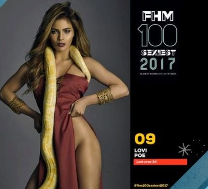 OOK! Meet The 2017 FHM's Sexiest Women! KNOW WHO THEY ARE HERE!