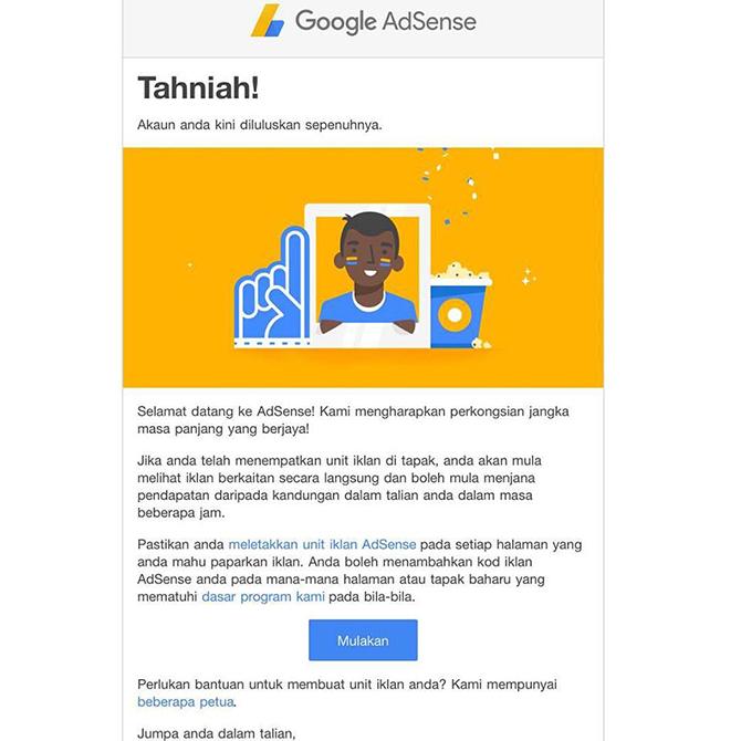 10 Tips Lulus Permohonan Google Adsense