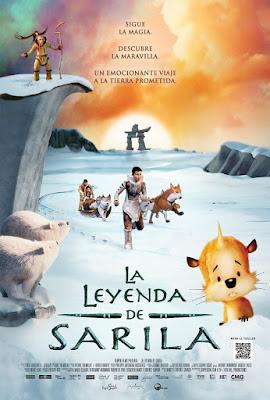 The Legend of Sarila 2013 DVD R2 PAL Spanish 5.1