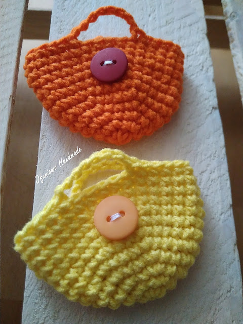 Crochet mini bags - Ofuniowo Handmade