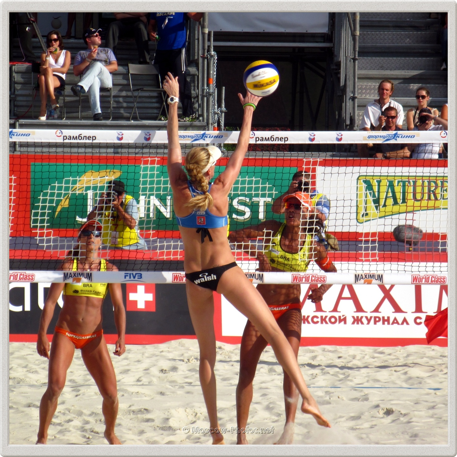 Center Block of Kerri Walsh