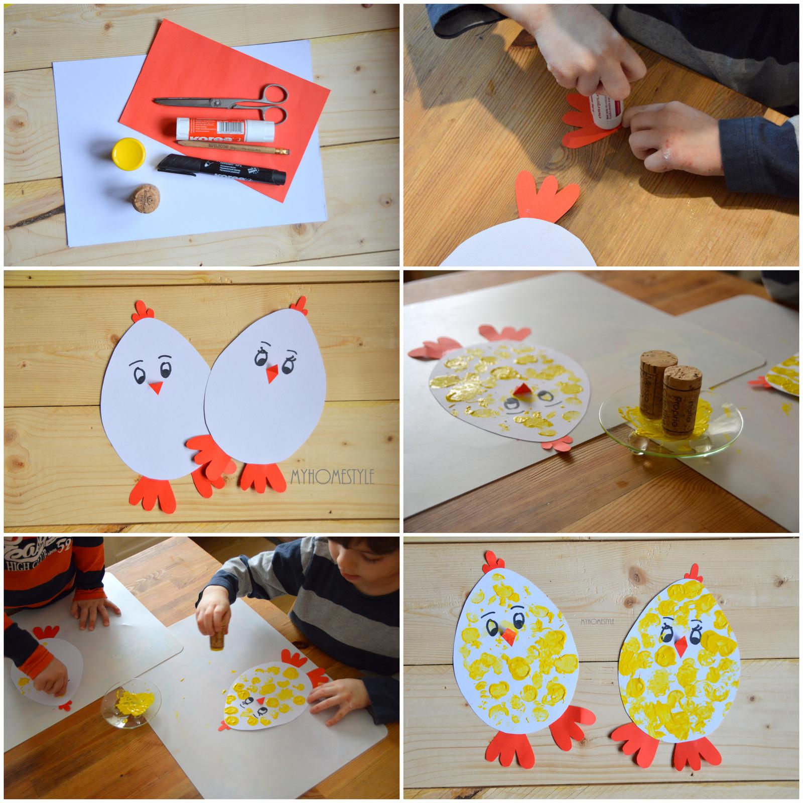 aa8c9dfa55b My Home Style  6 tipů na velikonoční tvoření pro děti