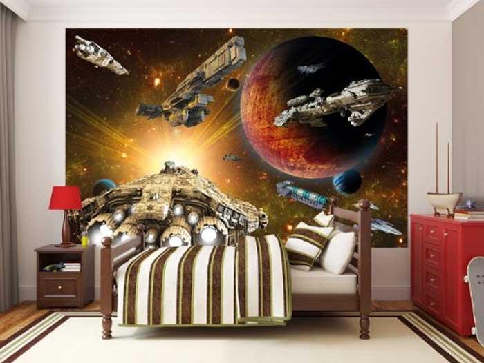 Wandgestaltung Jugendzimmer Star Wars   modern architecture and design