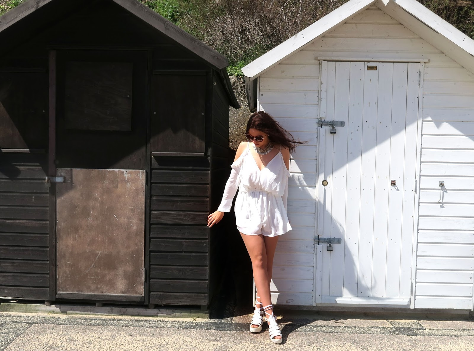 white-playsuit-style