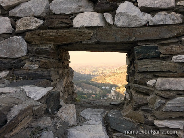Asenovgrad desde la fortaleza de Asén, Bulgaria