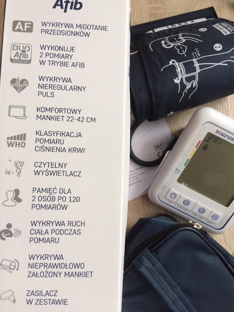 Ciśnieniomierz naramienny DiagnosticPro Afib