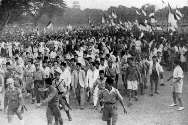 Sambutan setelah Indonesia Merdeka