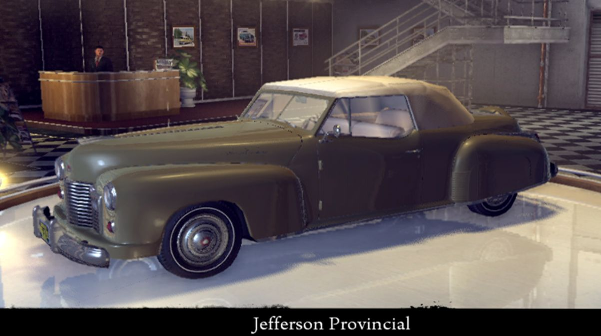 Mafia 2 Cars Jefferson Gold Wallpapers