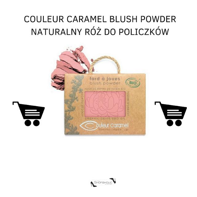 couleur camamel naturalny roz do policzkow gdzie najtaniej roz polecany przez pigypeg