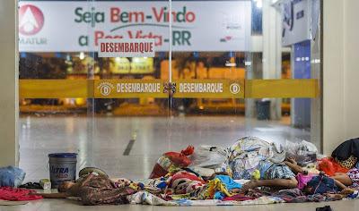 Com 40.000 venezuelanos em Roraima, Brasil vive crise de refugiados
