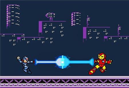 8bit Robot Battle - Excel