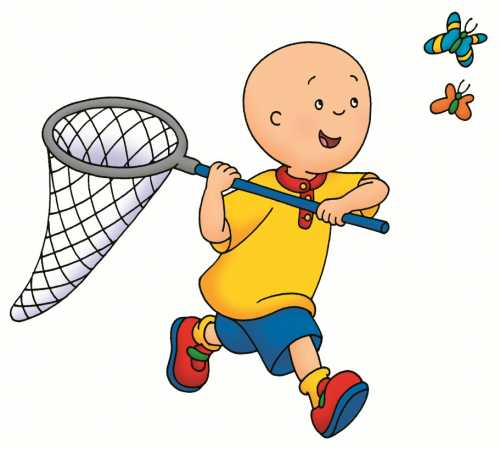 Cartoon Characters: More Caillou Pictures