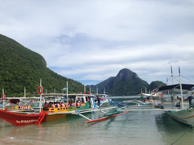 El Nido docking area