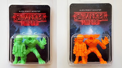 "New Stranger Things ""Stranger Minis"" Keshi Figure Set Colorways by Alien Robot Monster"
