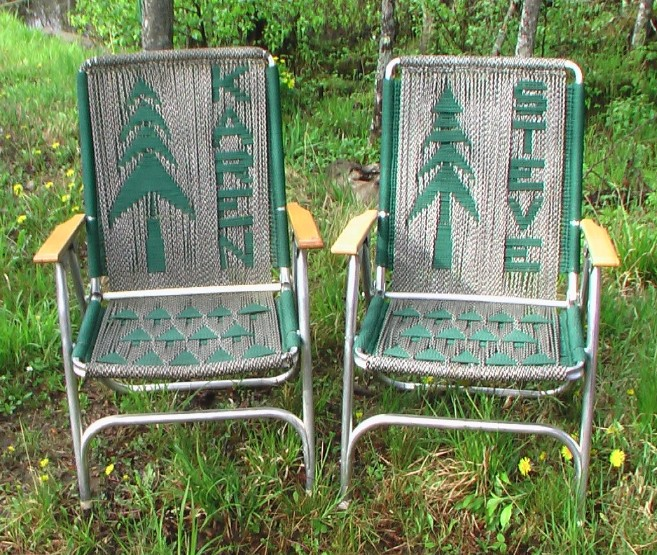 Lawn Chairs Usa Rubber Chair Tips Rving The Is Our Big Backyard Re Weaving A Favorite