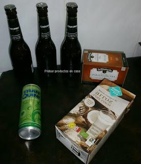 Disfrutabox Noviembre: Cruzcampo, Tranquini, arroz con coco