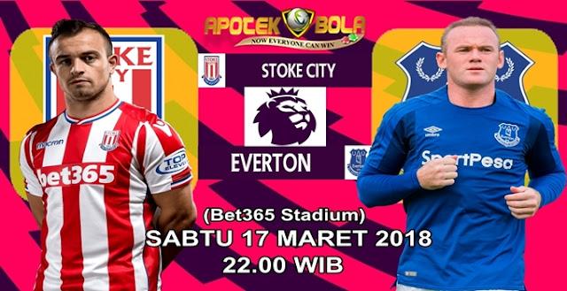 Prediksi Stoke City vs Everton 17 Maret 2018