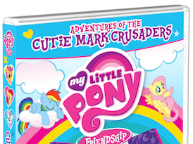 What's YOUR Cutie Mark? {A My Little Pony- Friendship is Magic: Adventures of the Cutie Mark Crusaders Review}