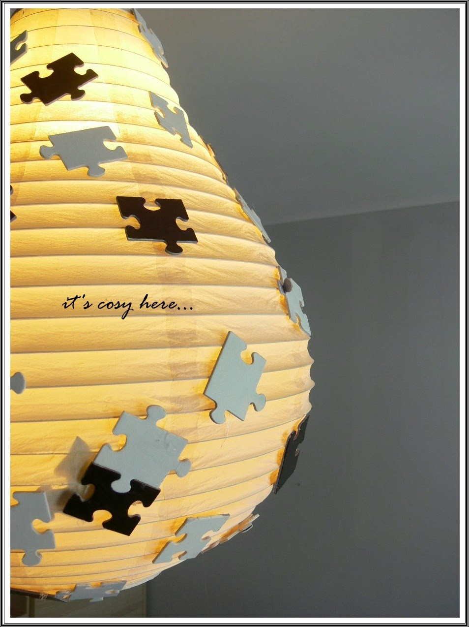 Boys' world -  Puzzle lamp...