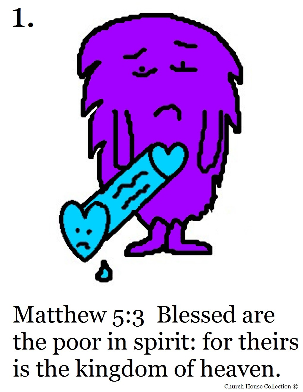 Coloring pages beatitudes - Printable Version