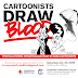 Cartoonists Draw Blood is this Saturday, October 20, 2018