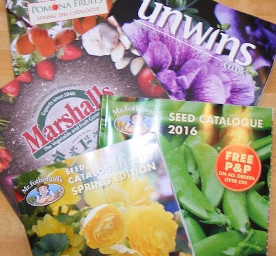 Marshalls Unwins and Mr Fothergill seed catalogues