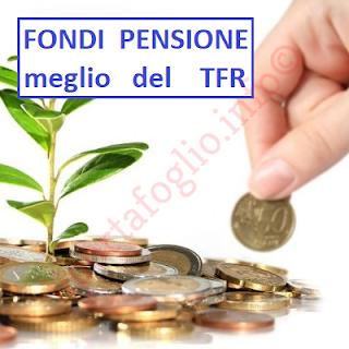 rendimenti fondi pensione meglio della rivalutazione del tfr