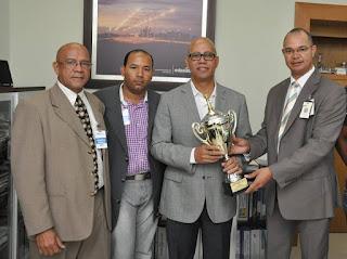 Federación Dominicana de Ajedrez agradece a Edeeste.